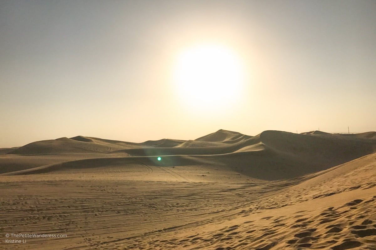 Abu Dhabi desert safari review • The Petite Wanderess