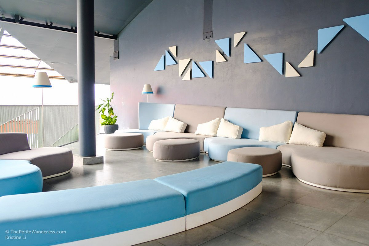 lounges in common areas | IZE Hotel Seminyak review