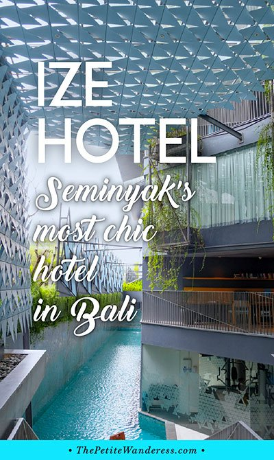 IZE Hotel Seminyak review • The Petite Wanderess