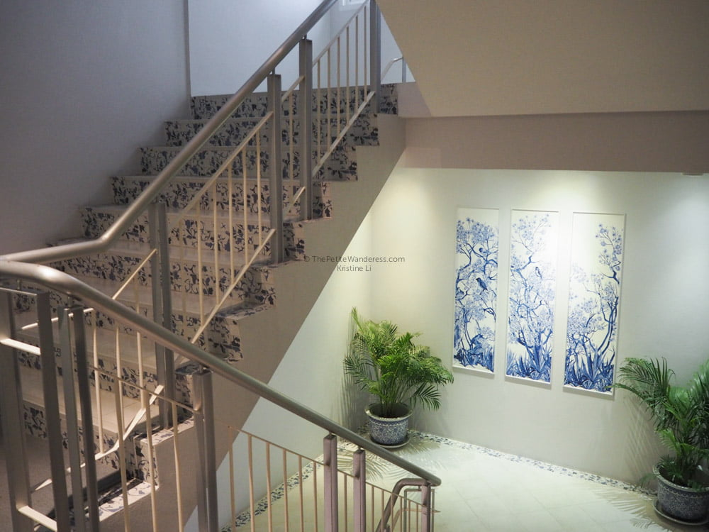 staircase at K Maison Hotel | Bangkok Travelogue: Ten Days Solo in the Land of Smiles • The Petite Wanderess
