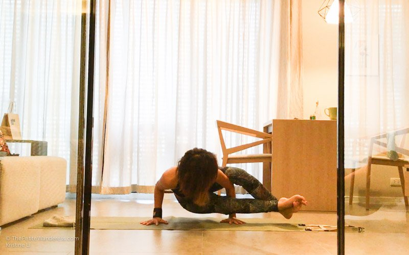 eight angle pose yoga | Bangkok Travelogue: Ten Days Solo in the Land of Smiles •The Petite Wanderess