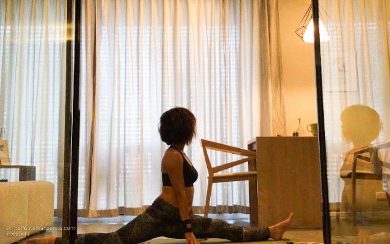 yoga split | Bangkok Travelogue: Ten Days Solo in the Land of Smiles •The Petite Wanderess