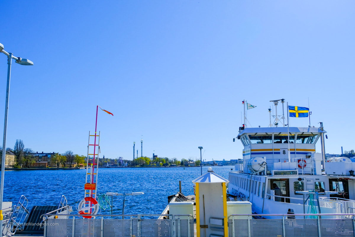 taking the ferry in Stockholm | Stockholm in 48 Hours • The Petite Wanderess