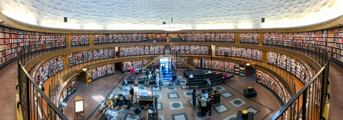 Stockholm public library | Stockholm in 48 Hours • The Petite Wanderess