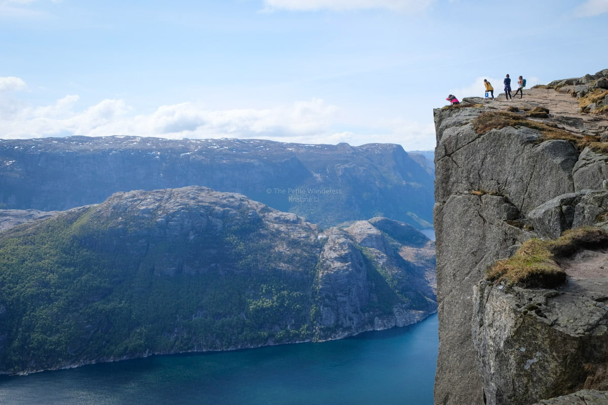 Hiking Pulpit Rock in Norway – A Breathtaking Experience! • The Petite Wanderess