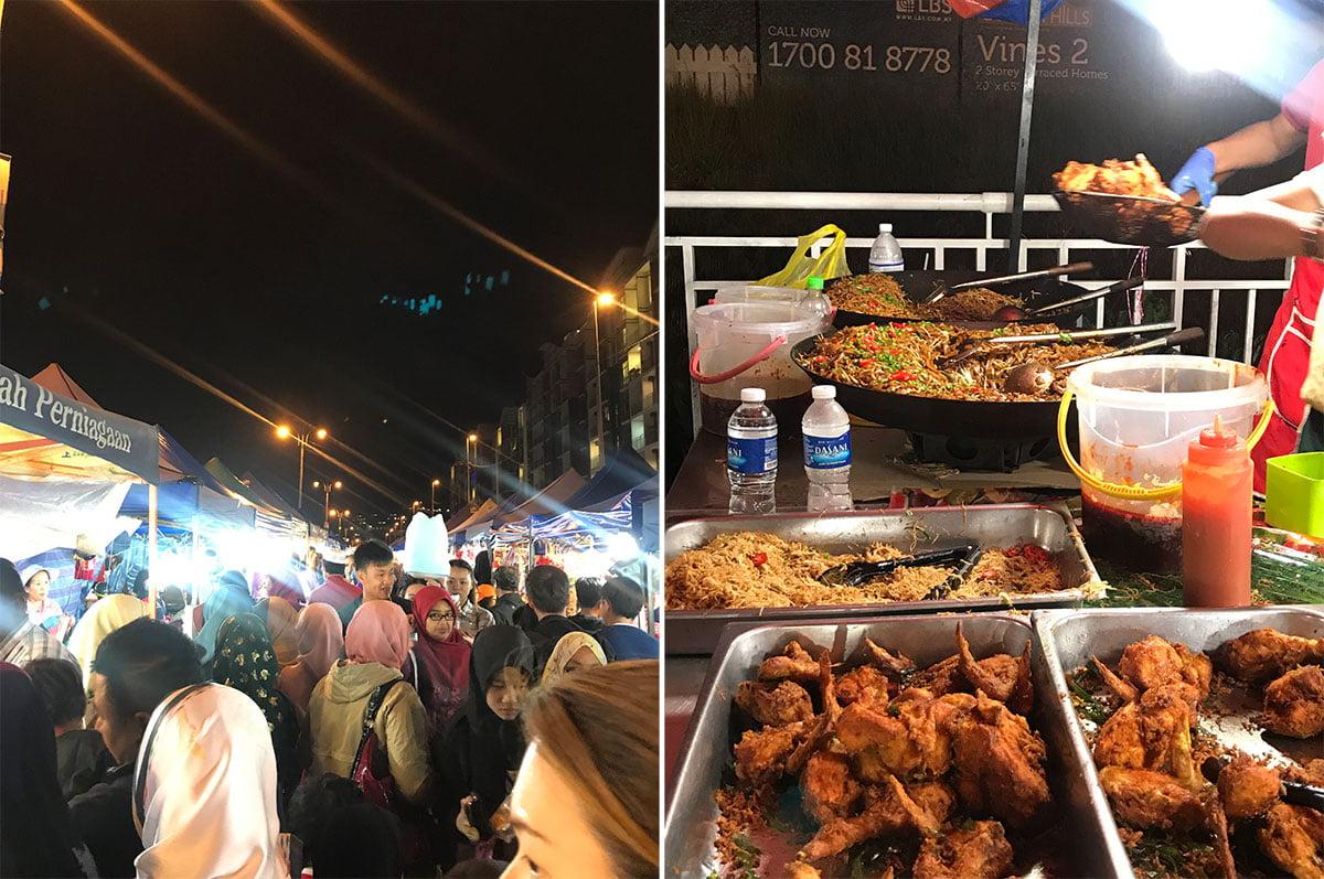 pasar malam at Cameron Highlands, Malaysia • The Petite Wanderess