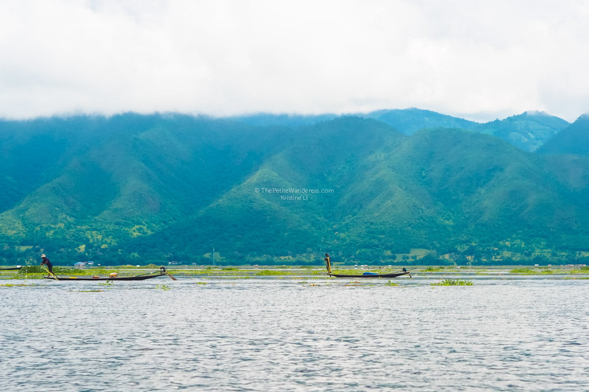fishermen at Inle Lake, Myanmar • The Petite Wanderess