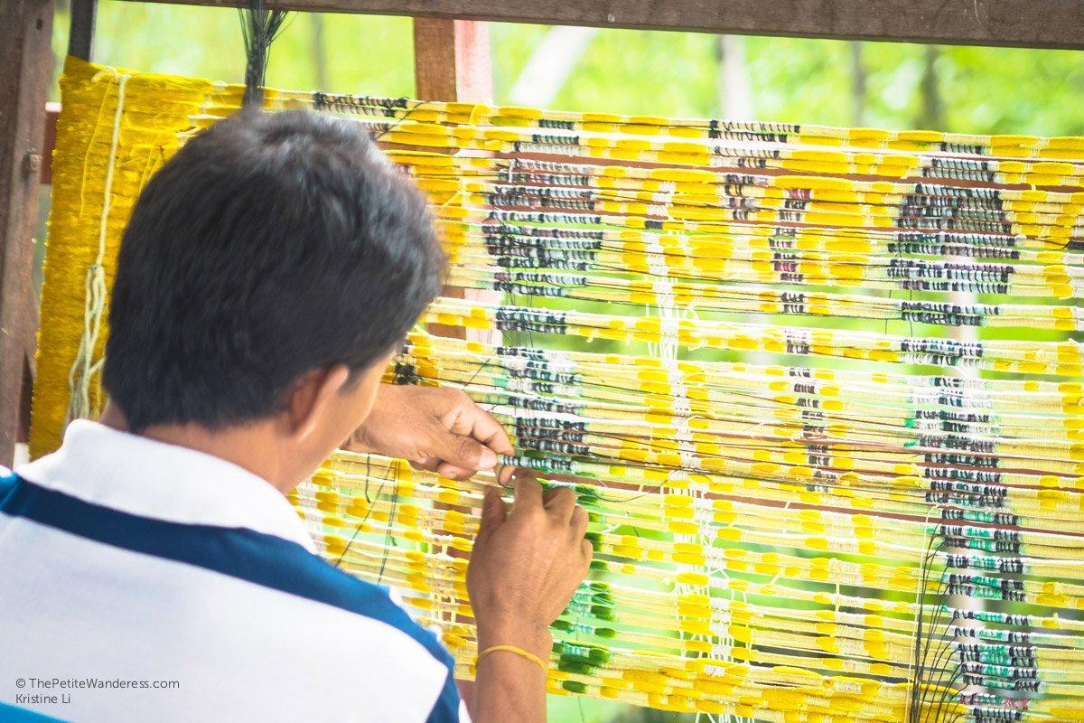 weaving craftsmen at Inle Lake, Myanmar • The Petite Wanderess