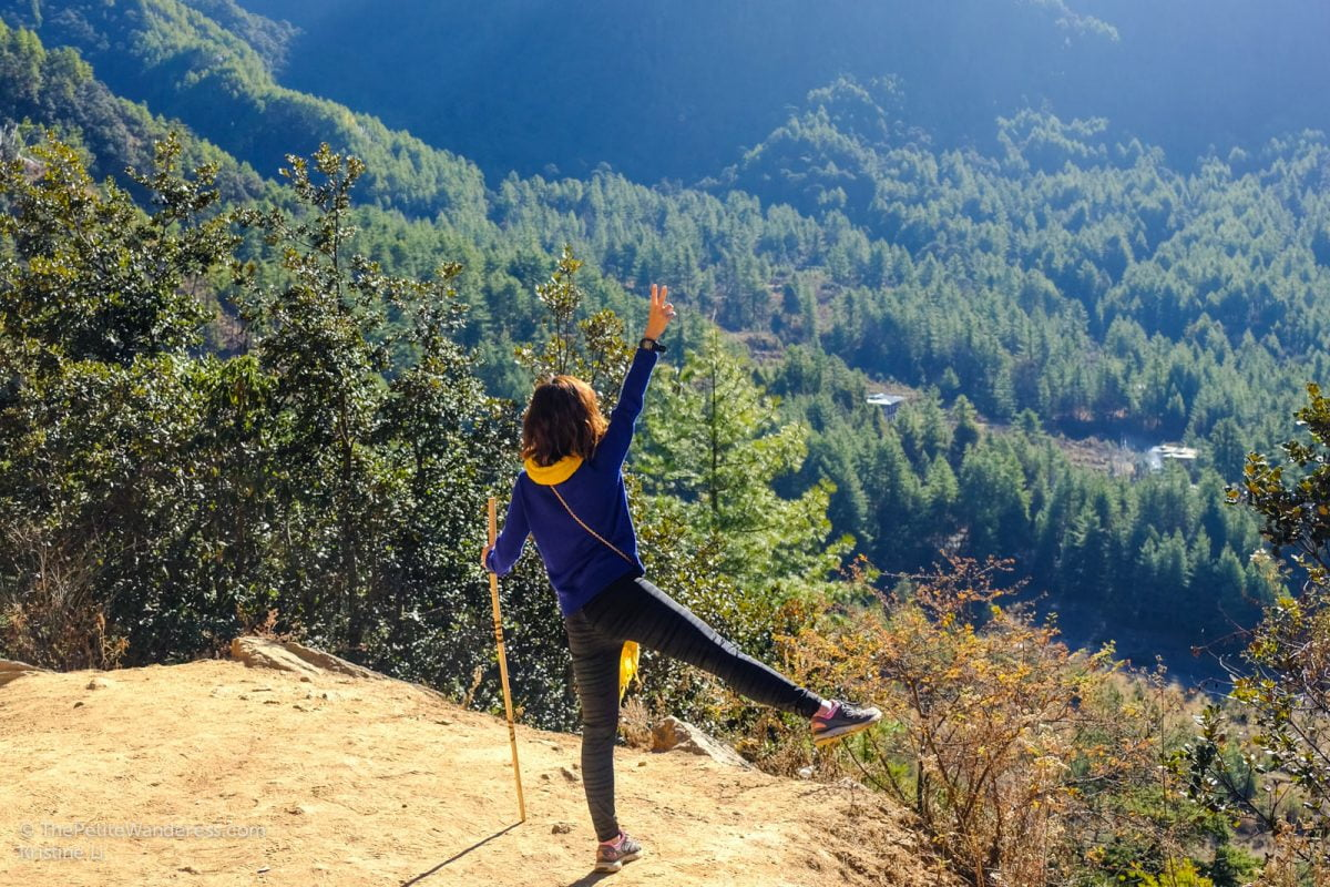 on the way up Tiger's Nest in Bhutan   Travel reflections from 2017 • The Petite Wanderess