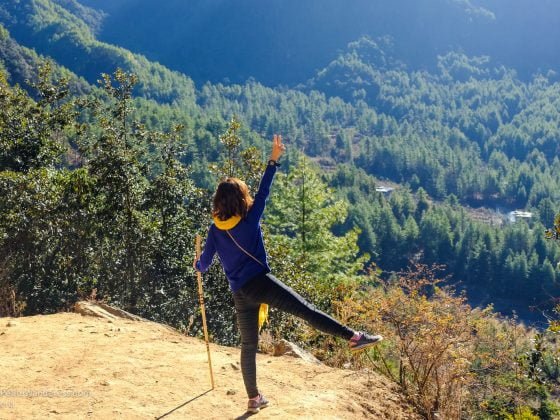 on the way up Tiger's Nest in Bhutan | Travel reflections from 2017 • The Petite Wanderess