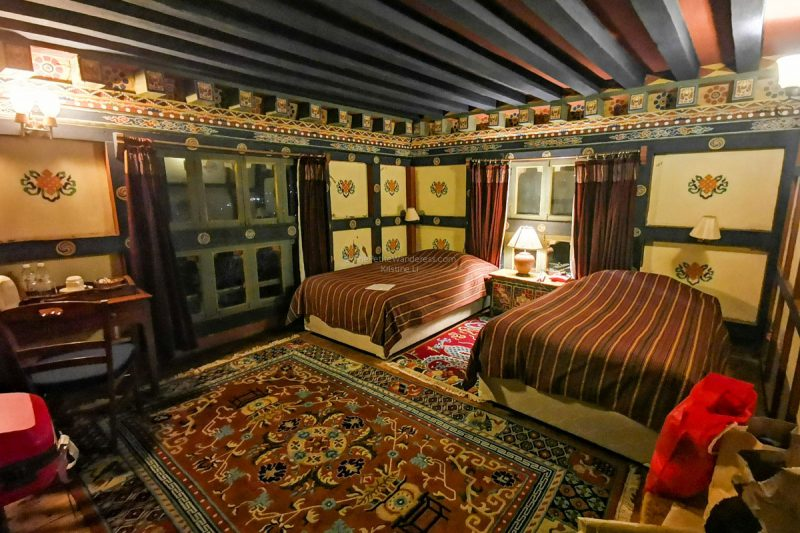 my room, digitally brightened!   All Your First-World Questions about a Bhutan Trip, Answered! • The Petite Wanderess