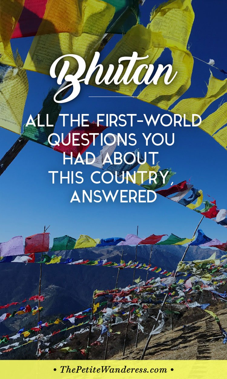 Thinking to visit #Bhutan and not sure if you can adapt? You might get an idea here!