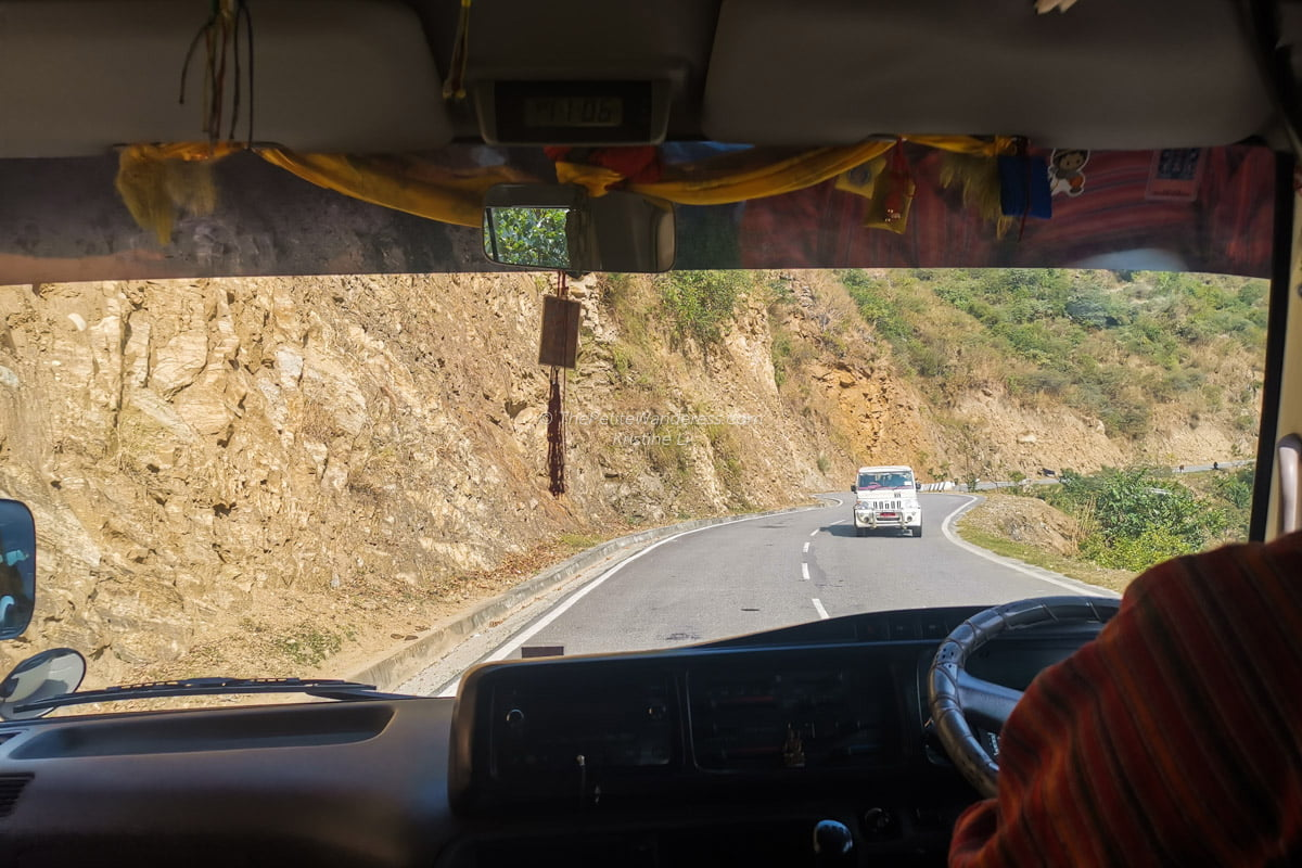 road from Thimphu to Trongsa | All Your First-World Questions about a Bhutan Trip, Answered! • The Petite Wanderess