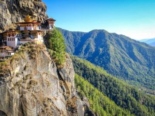 Hiking Bhutan's Tiger's Nest without using a magical Flying Tigress