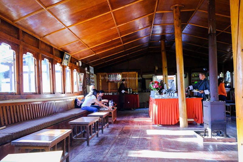 cafeteria | Hike to Tiger's Nest, Bhutan • The Petite Wanderess