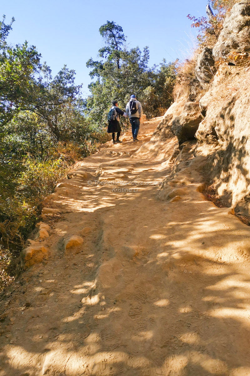 terrain | Hike to Tiger's Nest, Bhutan • The Petite Wanderess
