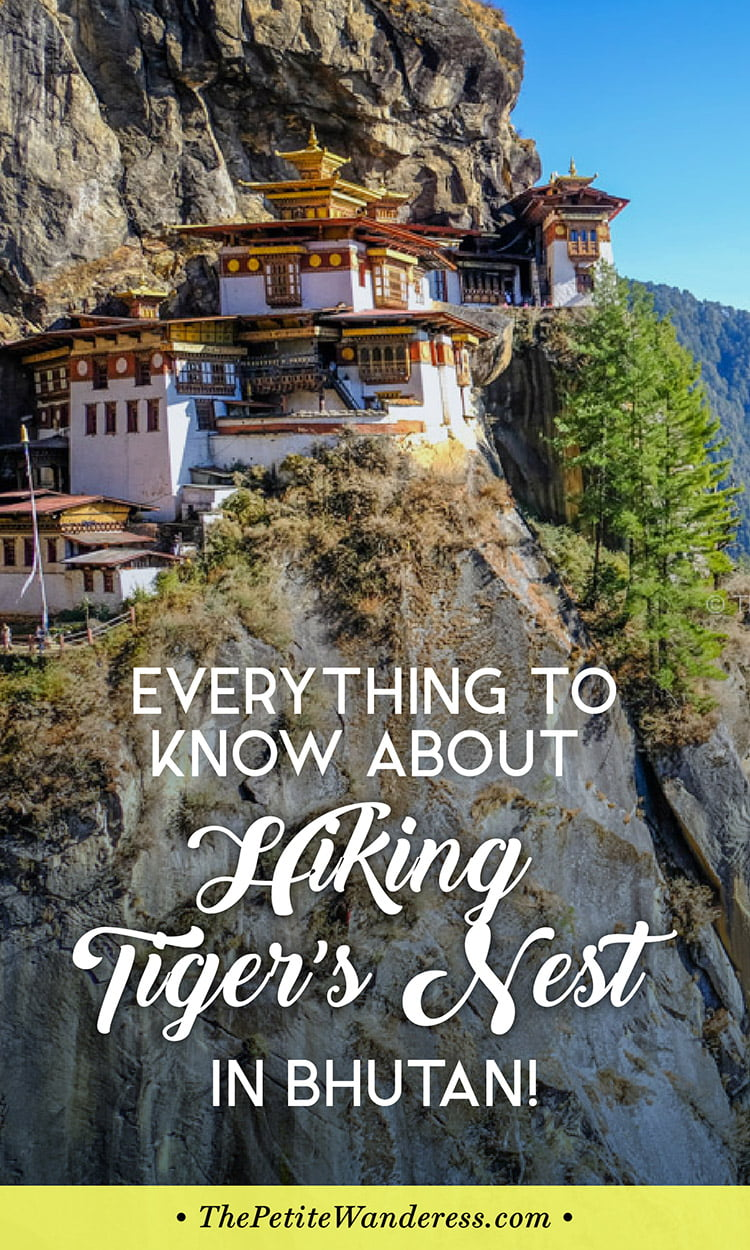 Everything You Need to Know About Hiking Tiger's Nest in Bhutan! • The Petite Wanderess