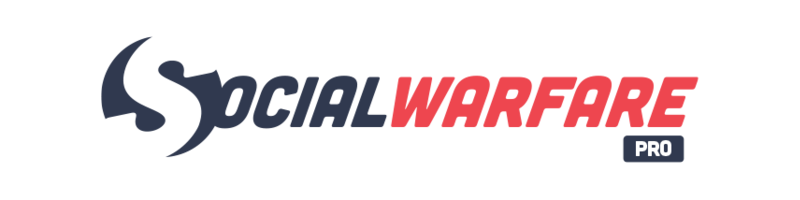 Social Warfare logo • The Petite Wanderess