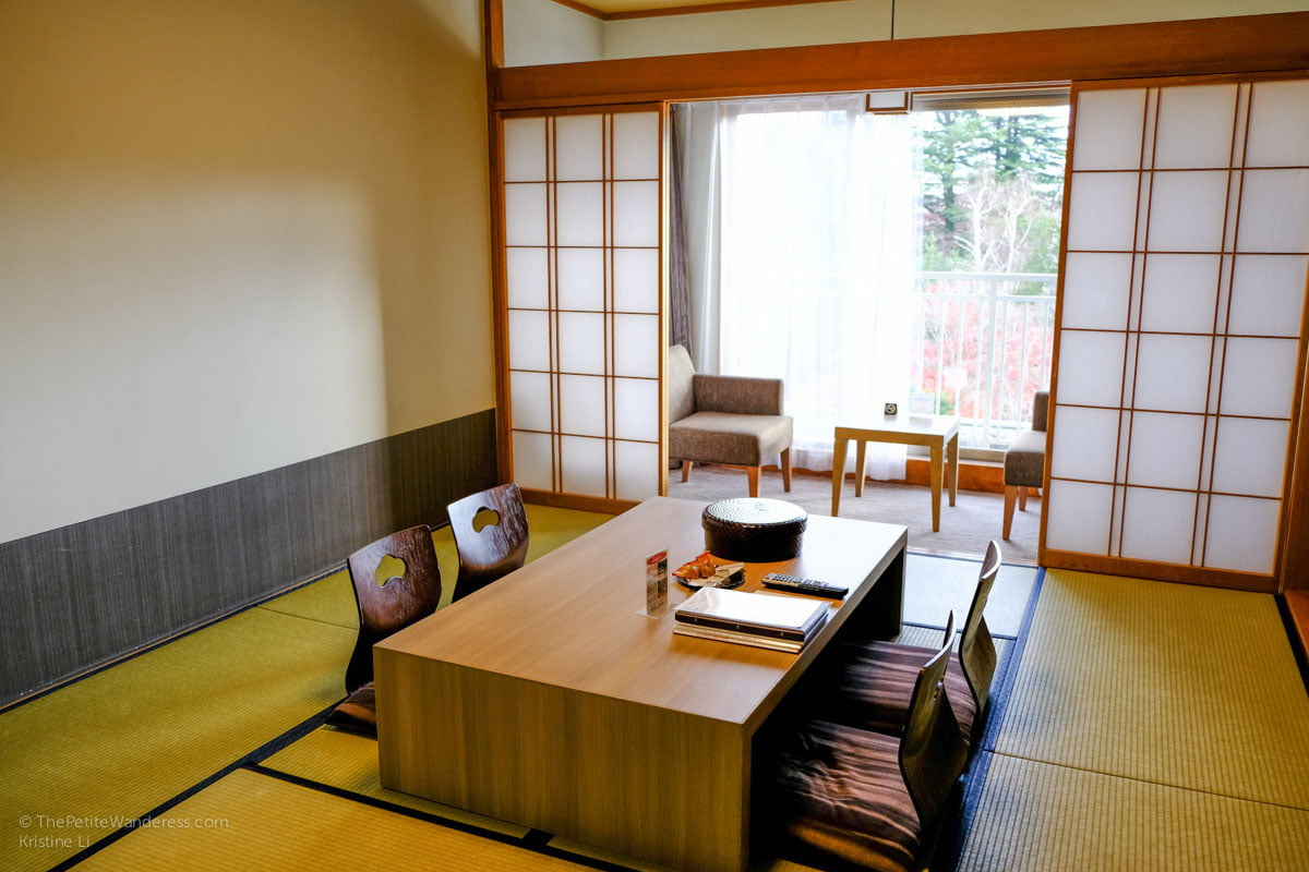 ryokan room | Fuji View Hotel review, Kawaguchiko, Japan • The Petite Wanderess