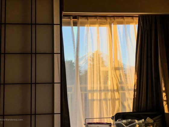 morning view in ryokan | Fuji View Hotel review, Kawaguchiko, Japan • The Petite Wanderess