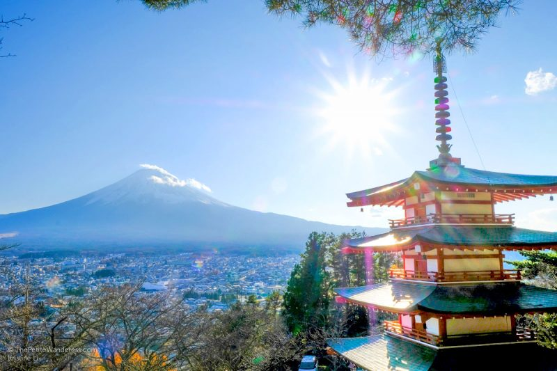 Chureito Pagoda | Things to do in Kawaguchiko, Japan • The Petite Wanderess