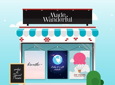 Made Wanderful shop banner