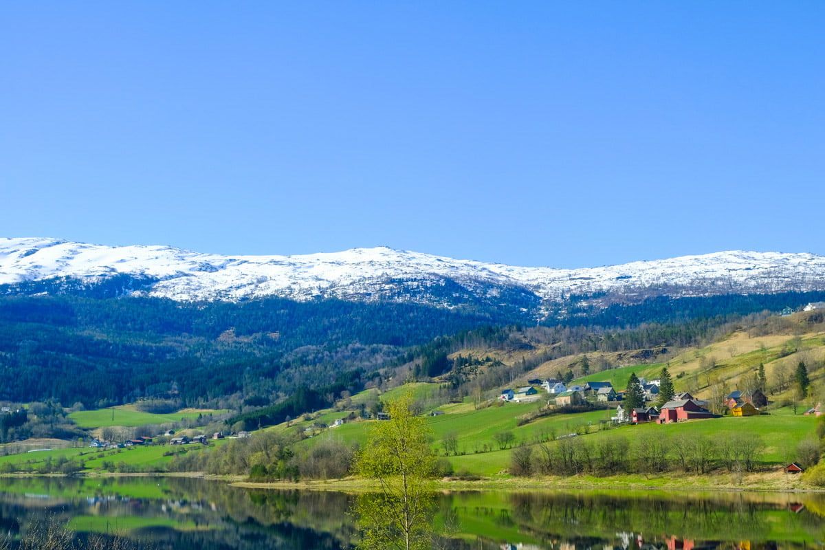 view from Bergen to Voss | Norway In A Nutshell | Bergen | tour review • The Petite Wanderess