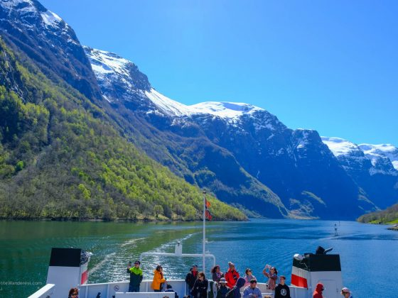 fjord cruise from Gudvangen to Flam | Norway In A Nutshell | Bergen | tour review • The Petite Wanderess