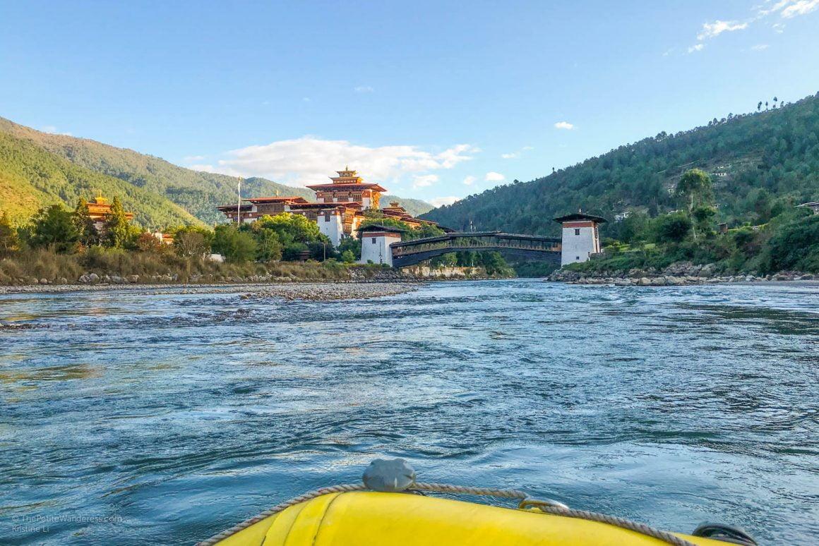 Rafting in Punakha, Bhutan • The Petite Wanderess