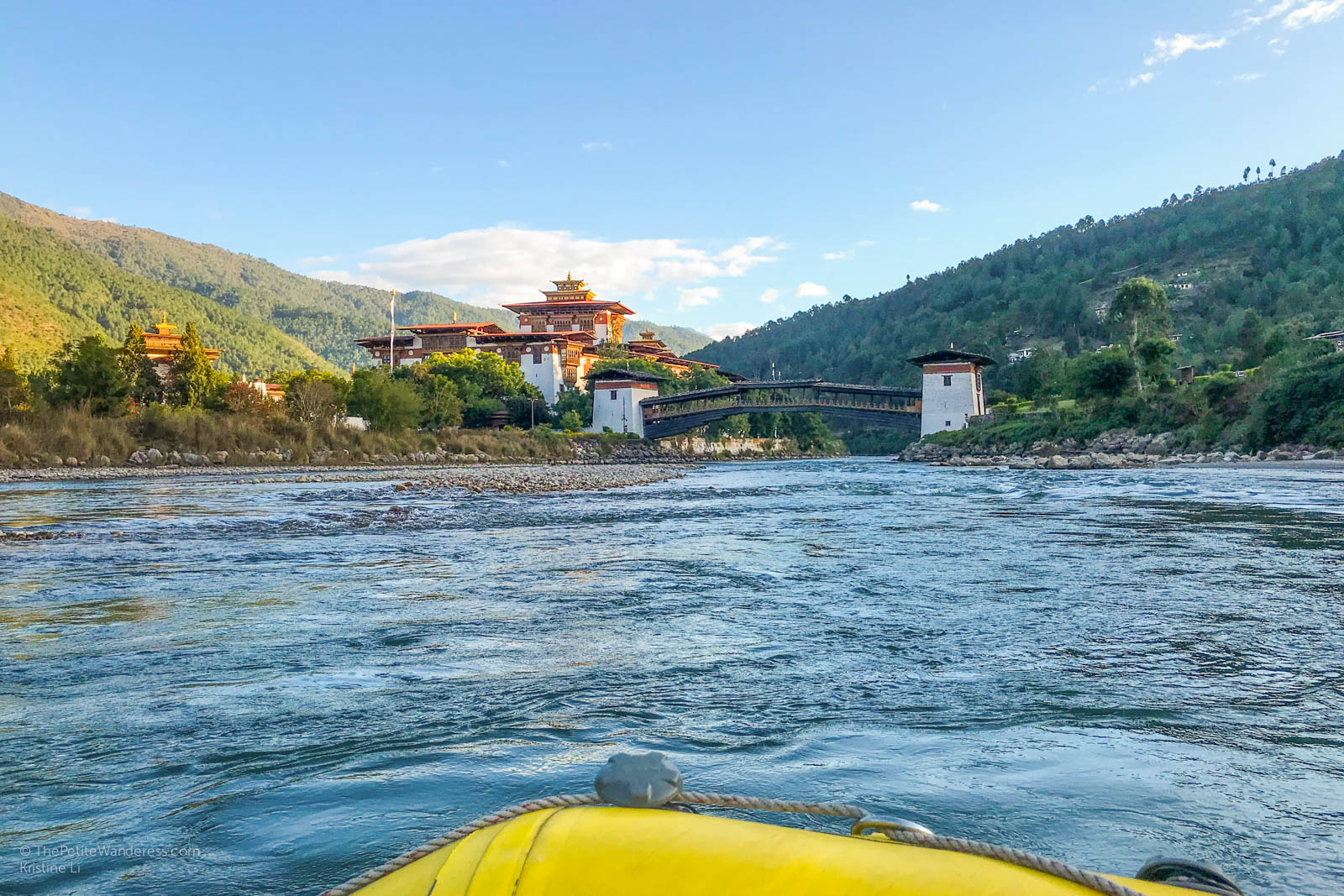 Rafting in Punakha, Bhutan • The Petite Wanderess