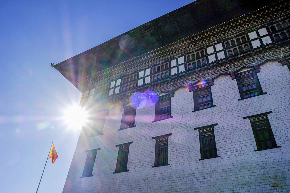 Tashichho Dzong, Thimphu | Bhutan in December – It Might be the Best Time to Visit Bhutan • The Petite Wanderess