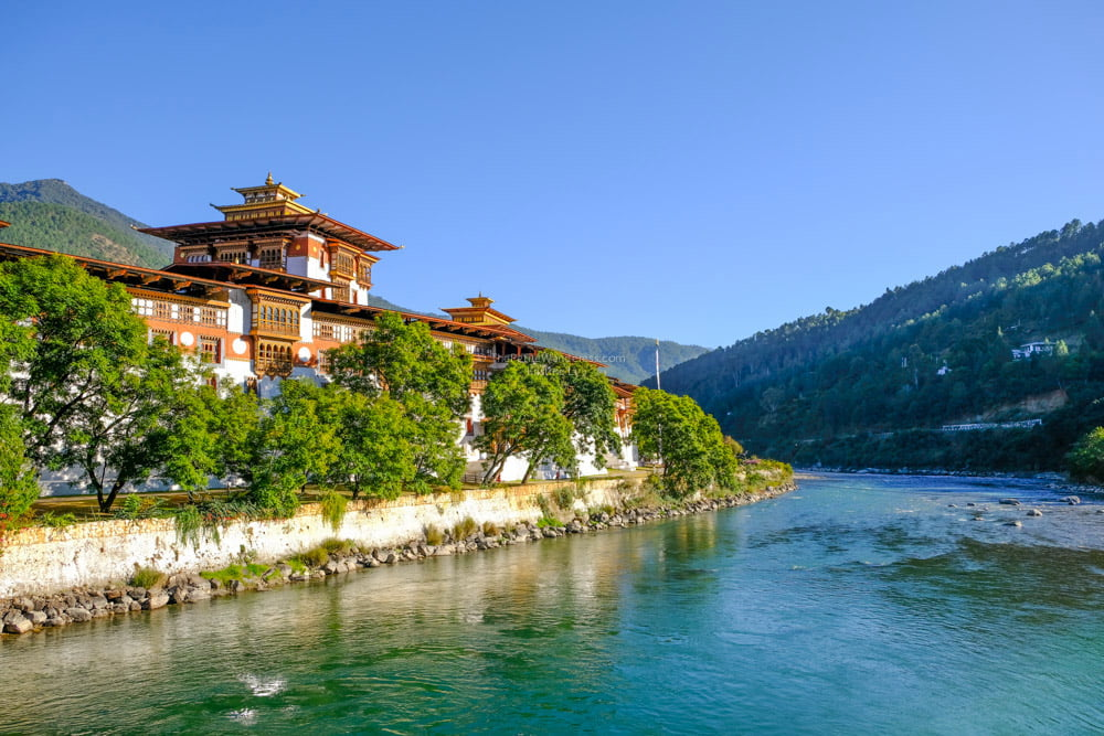 Punakha Dzong | Bhutan in December – It Might be the Best Time to Visit Bhutan • The Petite Wanderess