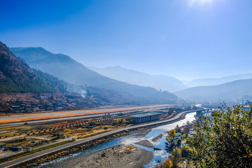 Paro Airport | Bhutan in December – It Might be the Best Time to Visit Bhutan • The Petite Wanderess