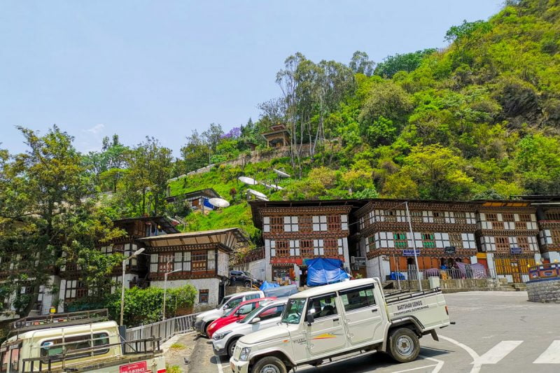 Trashigang town | Eastern Bhutan road trip photos • The Petite Wanderess