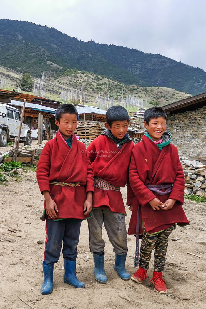 Brokpa tribe, Merak | Eastern Bhutan road trip photos • The Petite Wanderess