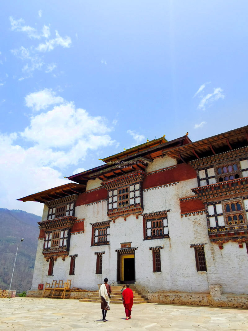 Trashigang Dzong | Eastern Bhutan road trip photos • The Petite Wanderess