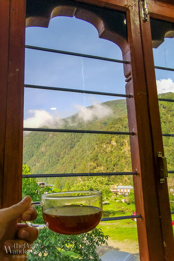 ginger tea in Bhutan | How TCM changed my travelling style • The Petite Wanderess