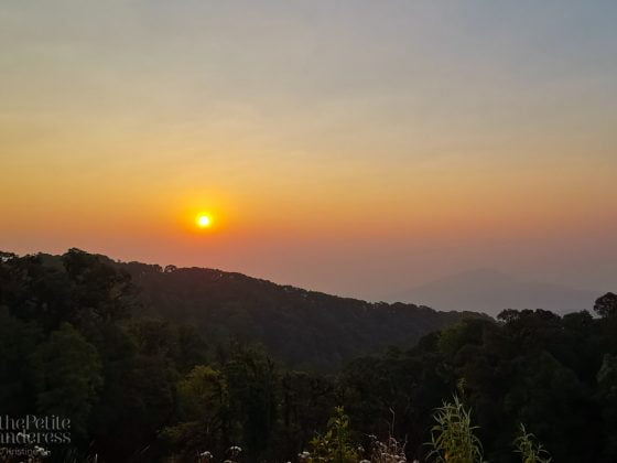 sunrise, Chiang Mai | How TCM changed my travelling style • The Petite Wanderess