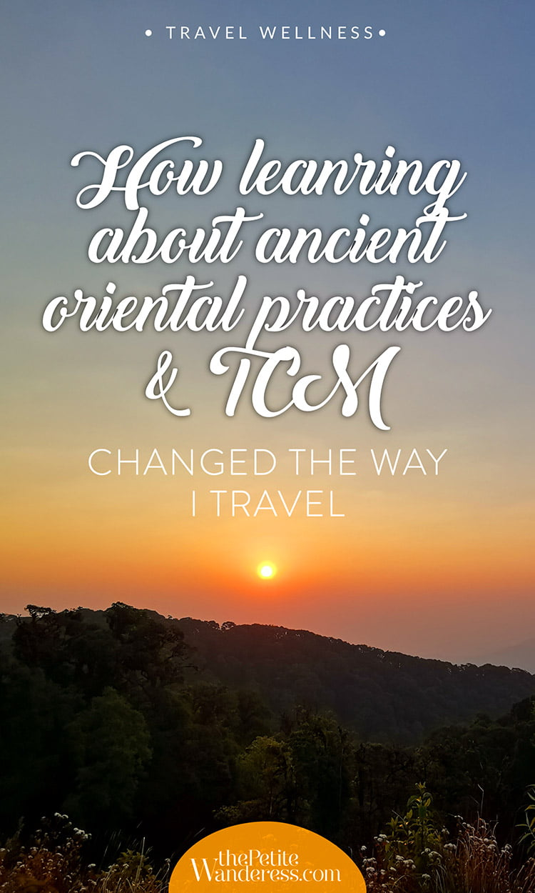 How TCM changed my travelling style • The Petite Wanderess
