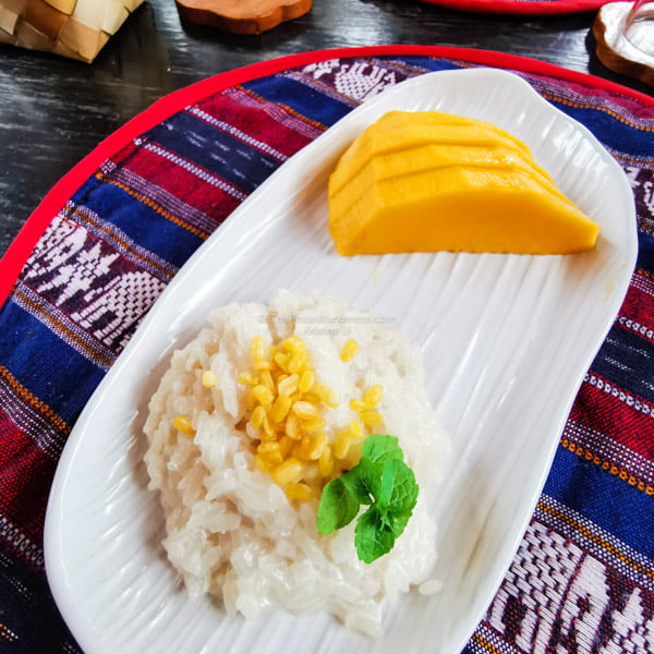 mango sticky rice | What to Know Before You Visit Chiang Mai • The Petite Wanderess
