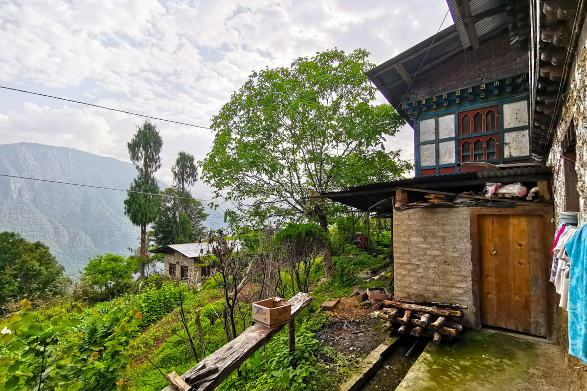 backyard washroom | Eastern Bhutan road trip • The Petite Wanderess
