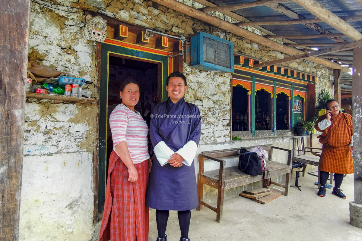 warm Bhutanese locals | Eastern Bhutan road trip • The Petite Wanderess