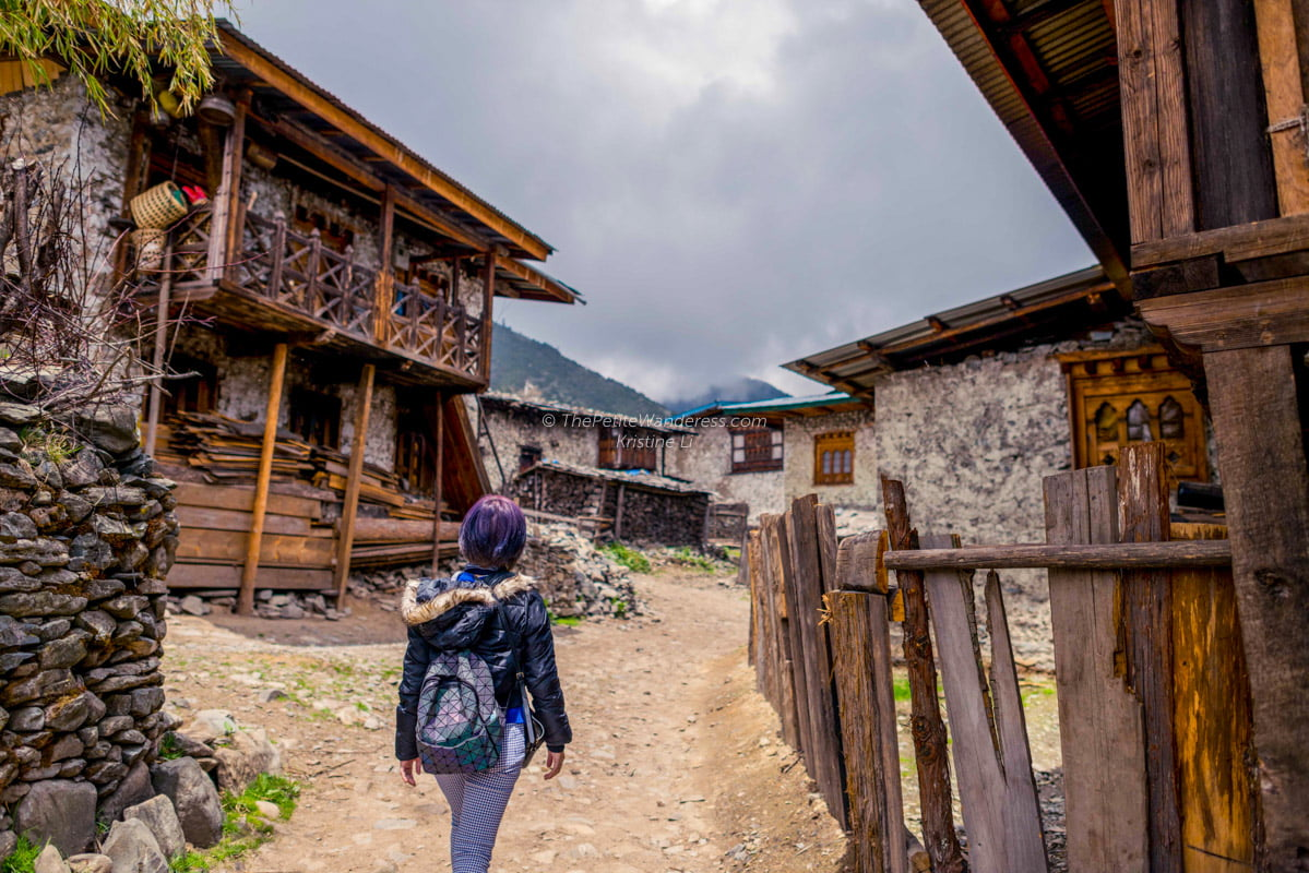 Merak village | Eastern Bhutan road trip • The Petite Wanderess