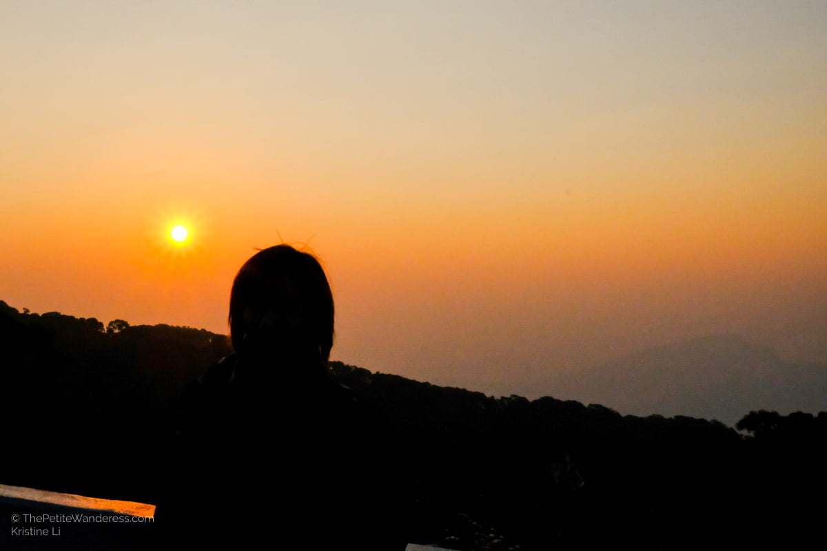 sunrise at Doi Inthanon National Park | Hiking & Waterfalls at a Day Trip to Doi Inthanon, Chiang Mai • The Petite Wanderess