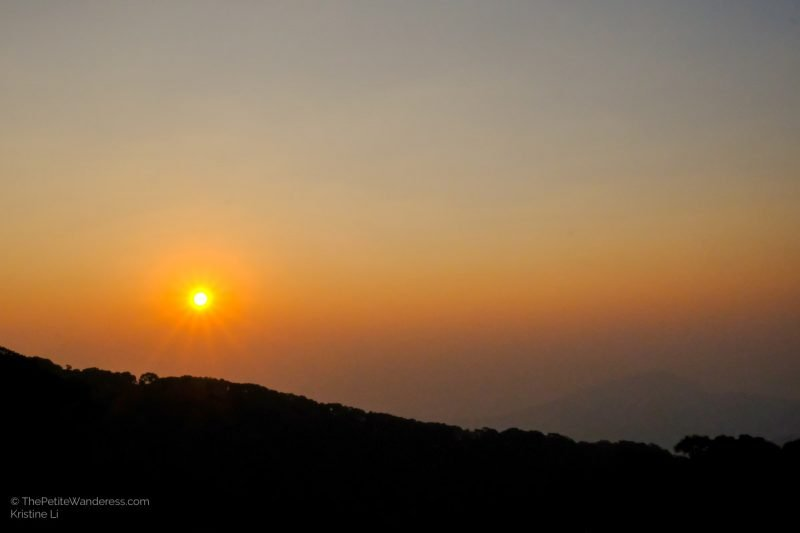 sunrise | Hiking & Waterfalls at a Day Trip to Doi Inthanon, Chiang Mai • The Petite Wanderess