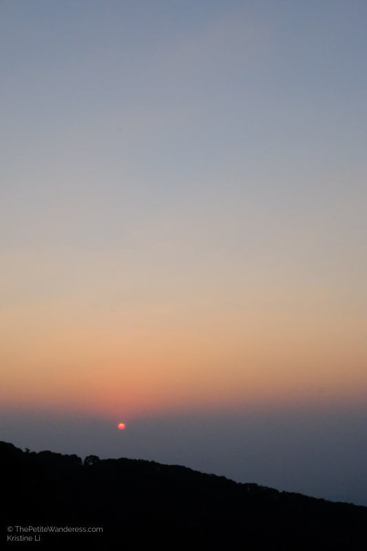 sunrise at Doi Inthanon mountain | Hiking & Waterfalls at a Day Trip to Doi Inthanon, Chiang Mai • The Petite Wanderess