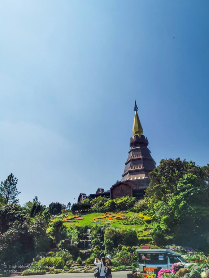 Royal Chedis | Hiking & Waterfalls at a Day Trip to Doi Inthanon, Chiang Mai • The Petite Wanderess