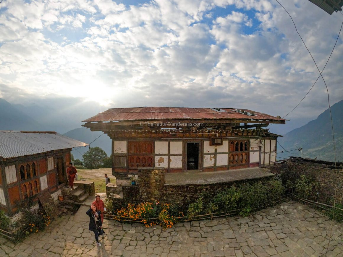 Sangchen Ogyen Tsuklag Monastery, Trongsa, Bhutan | What Makes Neykor Meditation Trip in Bhutan Special • The Petite Wanderess