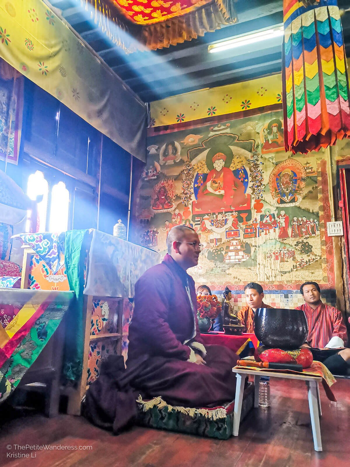 Khedrup Rinpoche   What Makes Neykor Meditation Trip in Bhutan Special •The Petite Wanderess