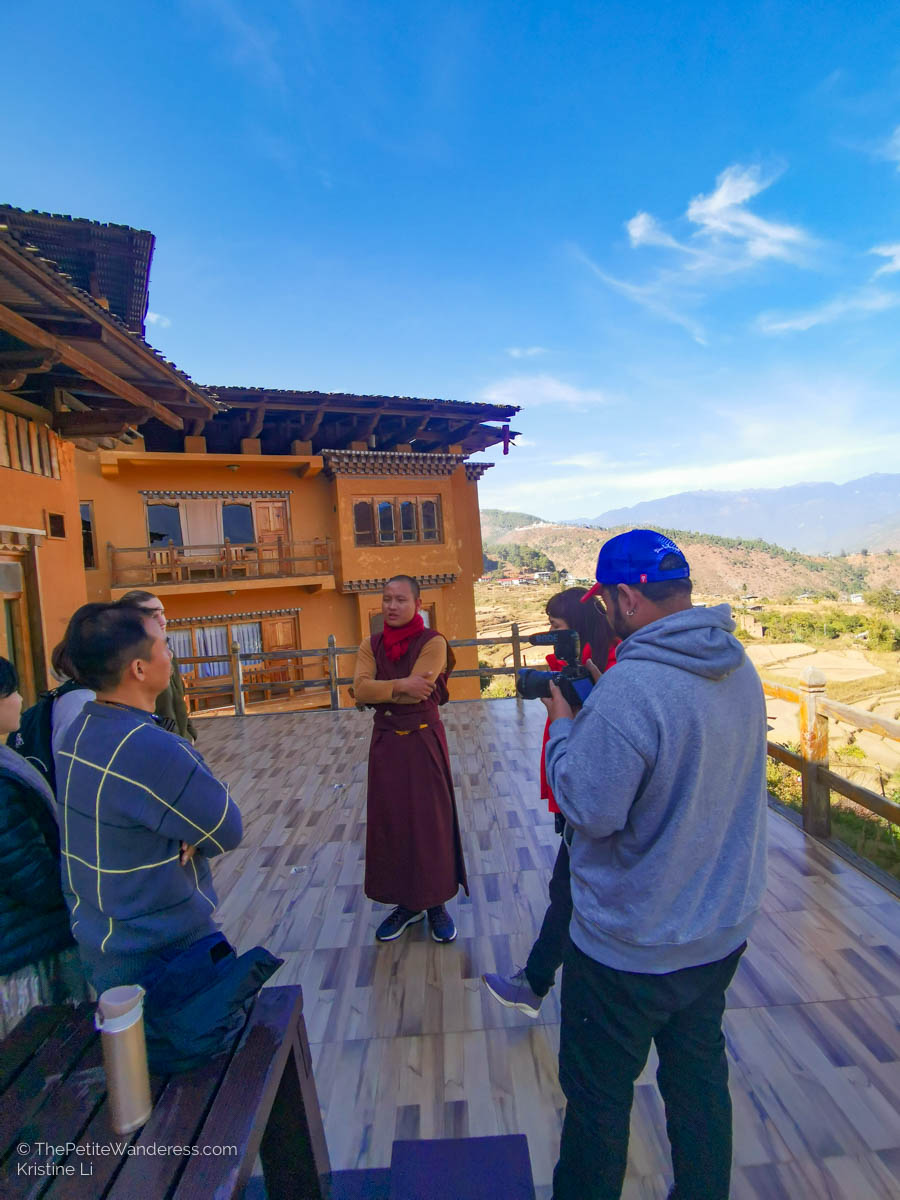 sharing session at Lobesa Hotel   What Makes Neykor Meditation Trip in Bhutan Special •The Petite Wanderess